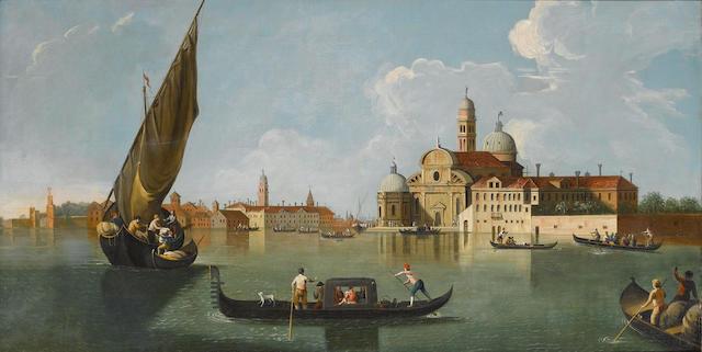 Follower of Johan Anton Richter, called Giovanni Richter (Stockholm 1665-1745 Venice) The Church of San Michele, Venice