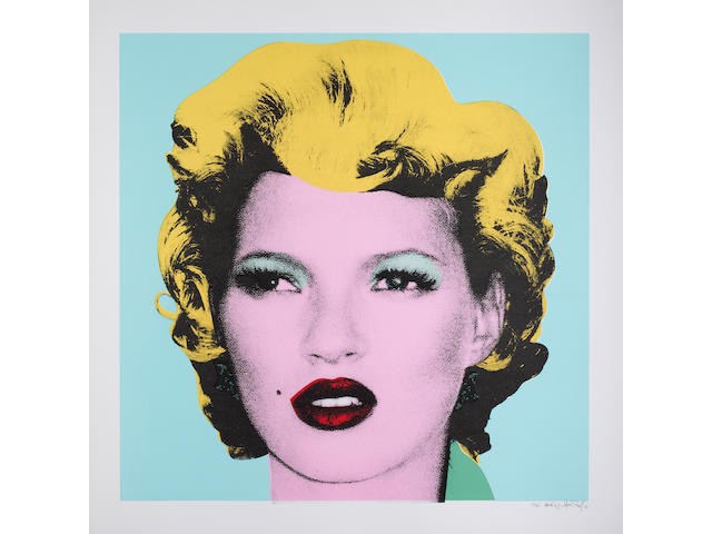 Banksy (British, born 1975) 'Kate Moss'