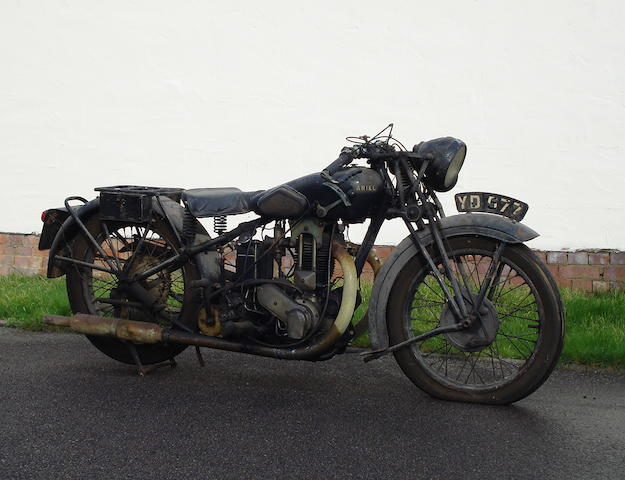 1930 Ariel 500cc Model F Frame no. K9763 Engine no. K9062