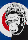 Banksy (British, born 1975) 'Monkey Queen', 2003/4????
