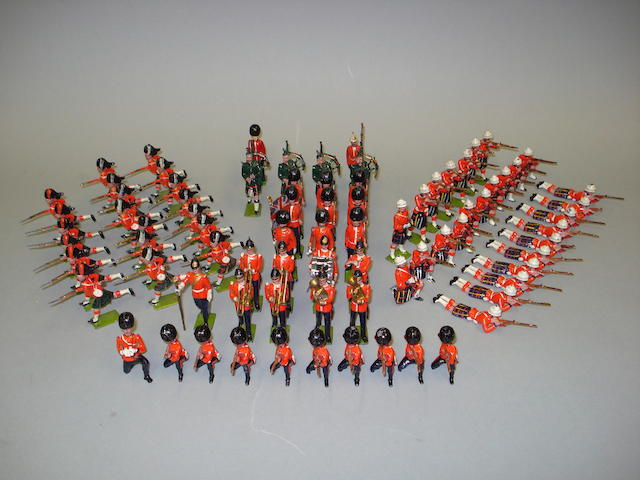 Britains set 89, Cameron Highlanders 81