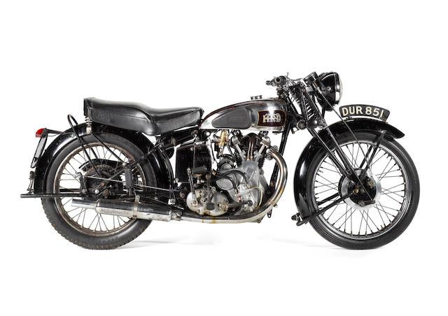 1938 Vincent-HRD 500cc Series-A Comet