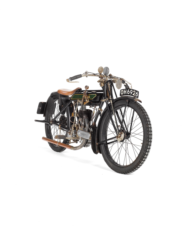 The Isle of Man Junior 250cc TT-winning, ex-Douglas Prentice 1921 New...