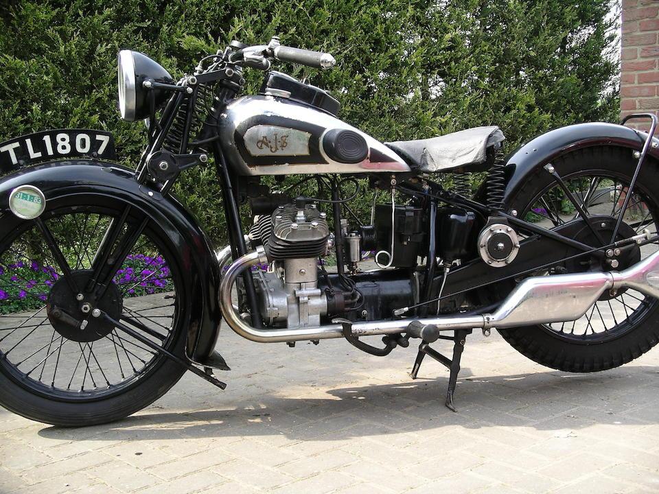 1931 AJS 498cc Model S3 Frame no. S150042 Engine no. 150042