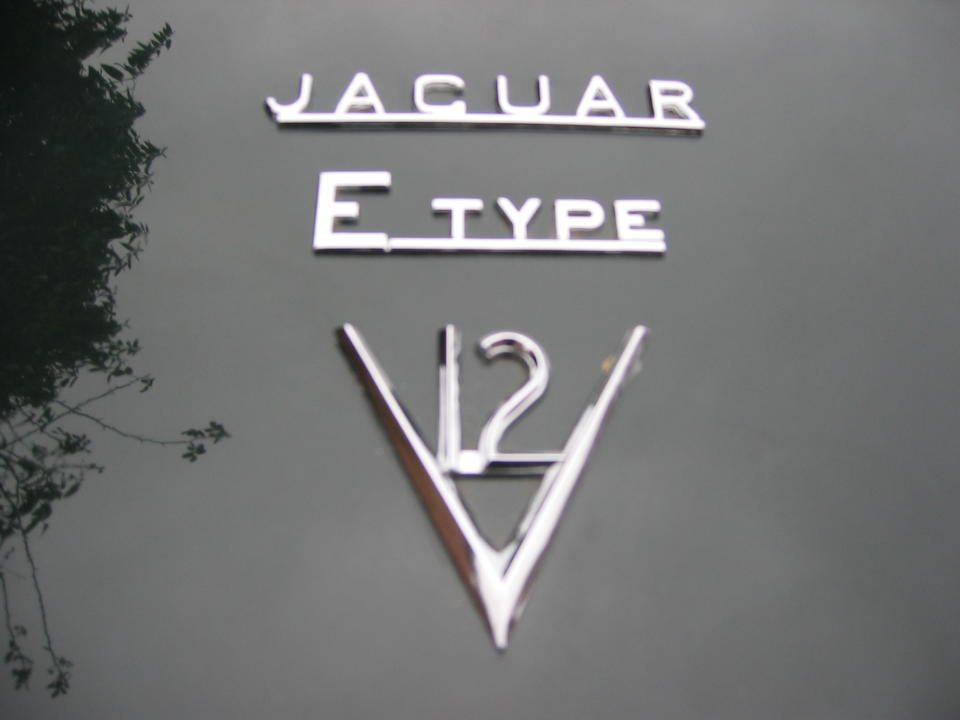 1973 Jaguar E-Type Series 3 V12 Roadster  Chassis no. 1S51958 (see text) Engine no. 7S12886SB
