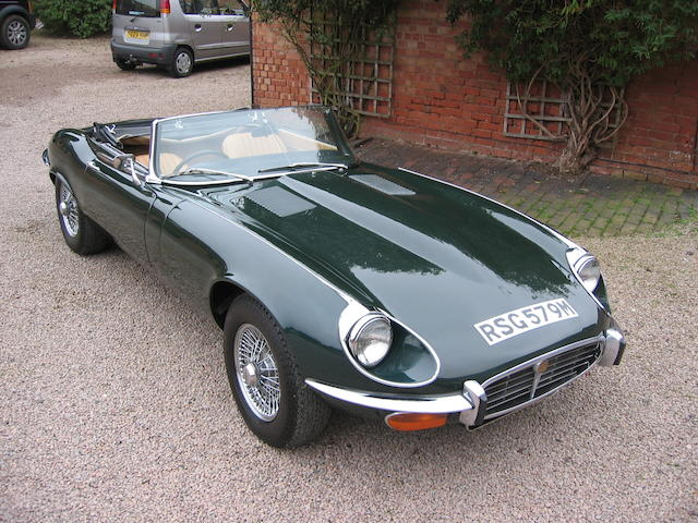 1973 Jaguar E-Type Series 3,