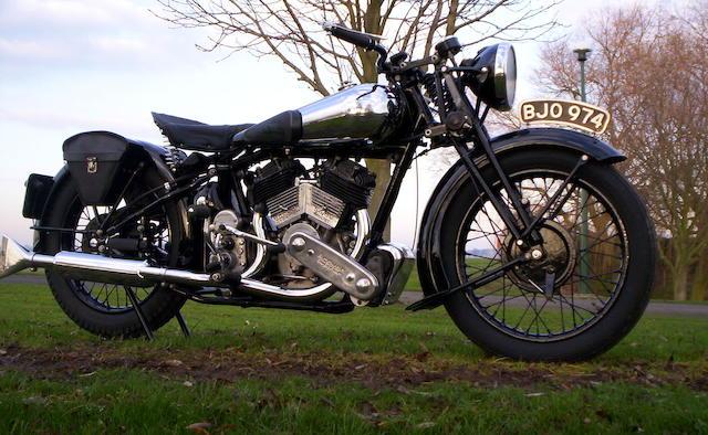 1935 Brough Superior 982cc SS80