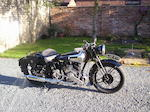 1935 Brough Superior 982cc SS80  Frame no. M8/1534 Engine no. 4207