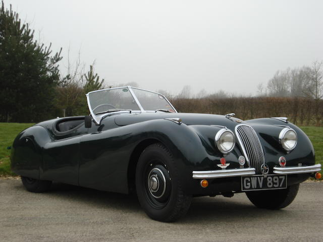1950 Jaguar XK120 Roadster  Chassis no. 660348 Engine no. W2523-7
