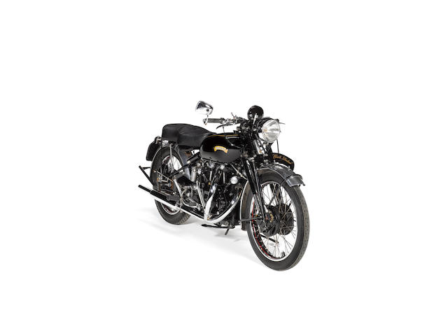 The Vincent Owners Club Spares Company,2007 Vincent 998cc Black Shadow Frame no. RE 14000 Engine no. F10AB5/1010