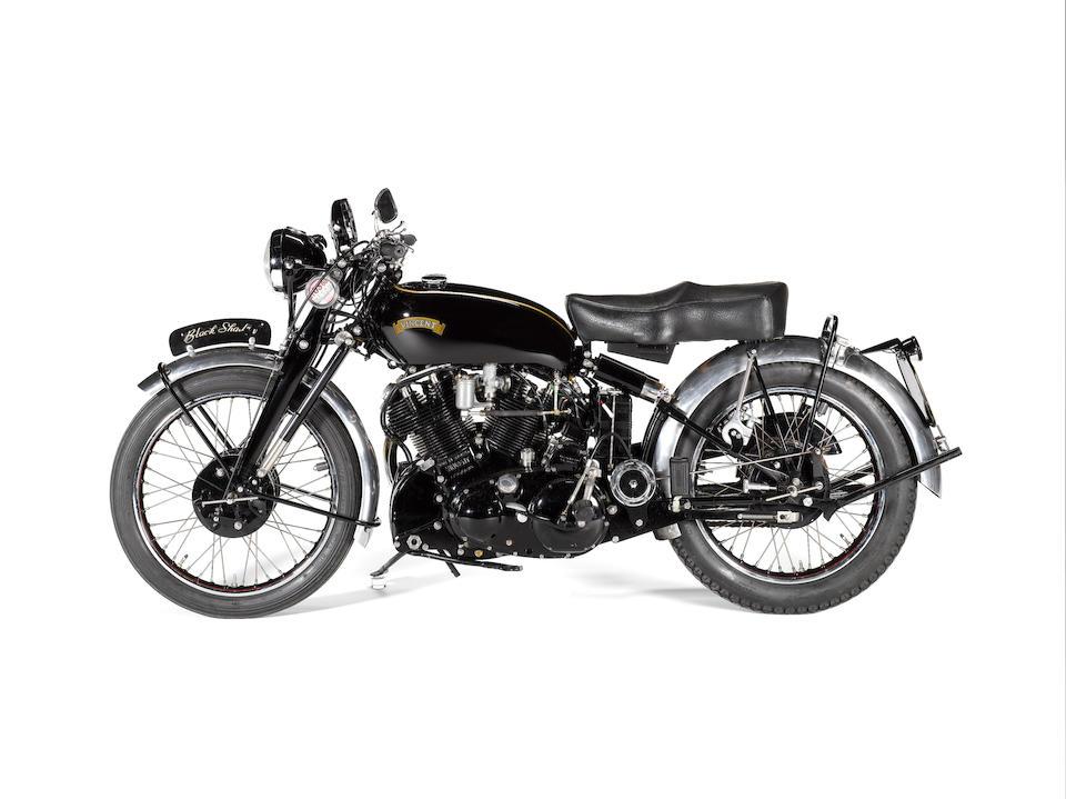 The Vincent Owners Club Spares Company,2007 Vincent 998cc Black Shadow Frame no. RE 14000 Engine no. F10AB5/1010