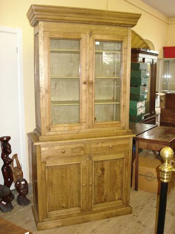 A modern oak dresser,