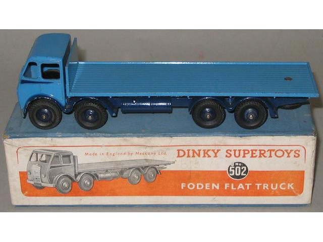 Dinky 502 1st Foden flat