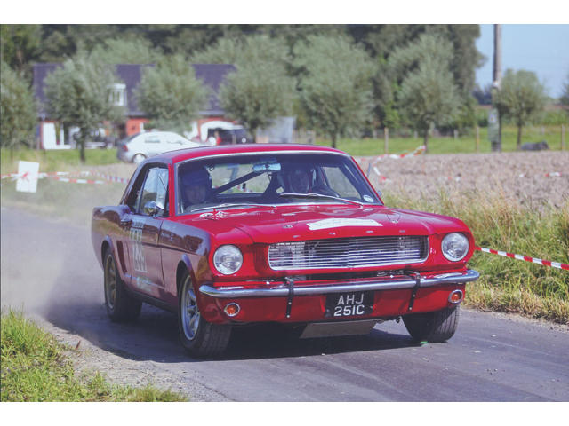 1965 Ford Mustang Rally Car 5R07T224756