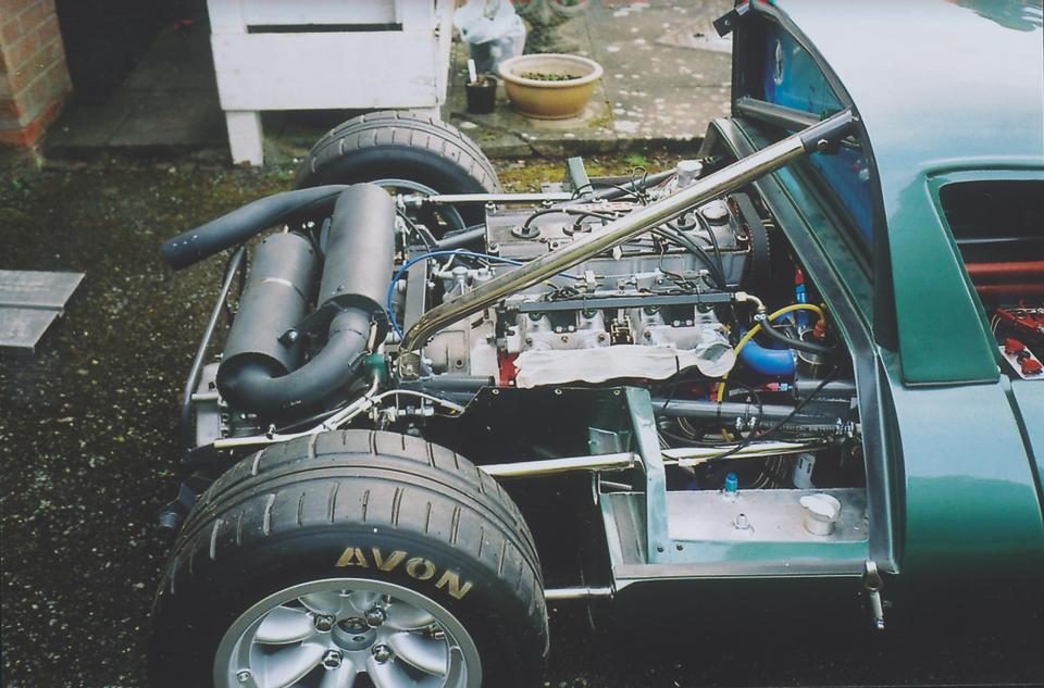 2003 Ginetta G12 Re-Creation  Engine no. 0458A