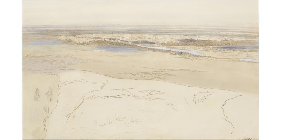 Edward Lear (British, 1812-1888) Damascus