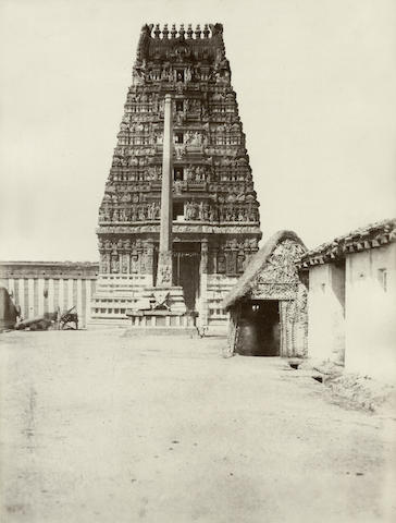 PIGOU (WILLIAM HENRY)  Three views of temples in Mysore, 1866