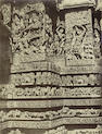 NEILL (ANDREW)  Two studies of sculptures on the west front of the Great Temple at Halebidu, 1866