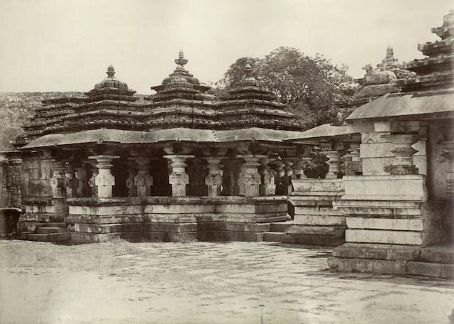 PIGOU (WILLIAM HENRY)  Four studies of temples, 1866