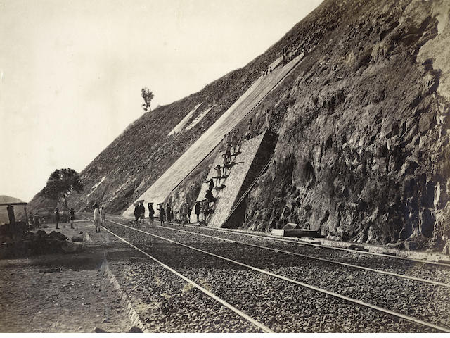 BHORE GHAT INCLINE  A view at the Bhore Ghat Incline, 1860s