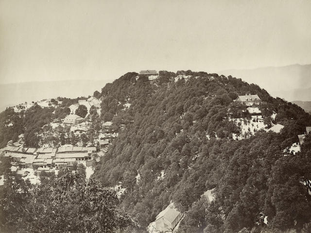 DALHOUSIE  Two views, one by Ferrot, 1870s