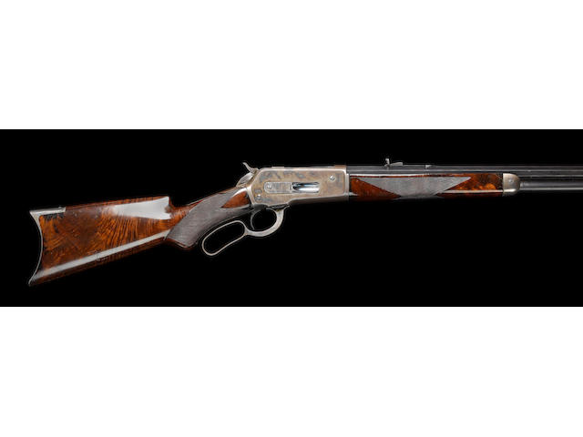 A fine .45-90 (W.C.F.) 'Model 1886' underlever rifle by Winchester, no. 36880