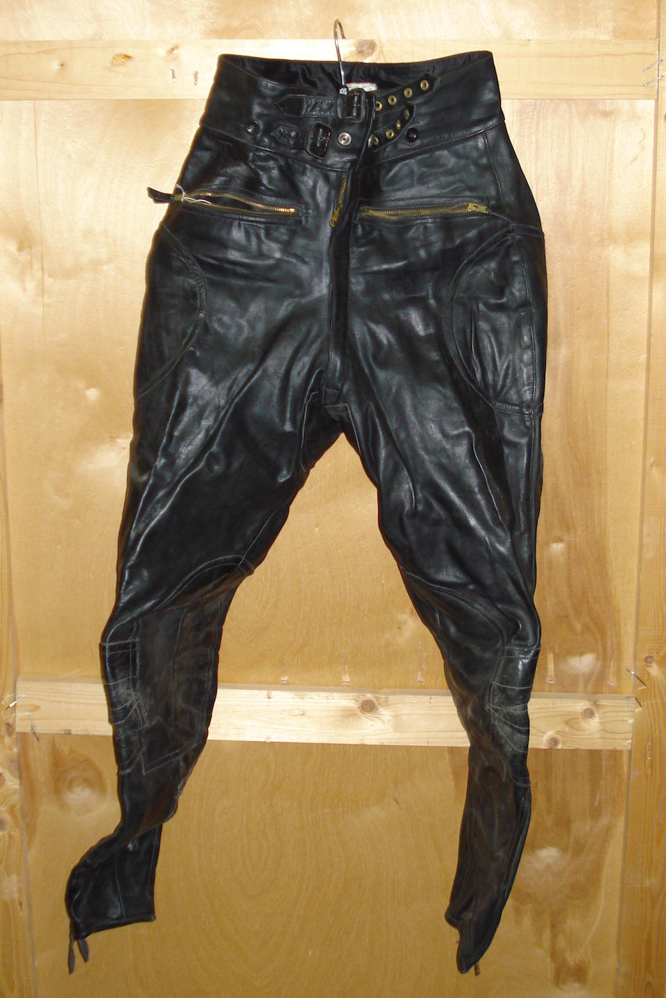A set of S Lewis's leathers,
