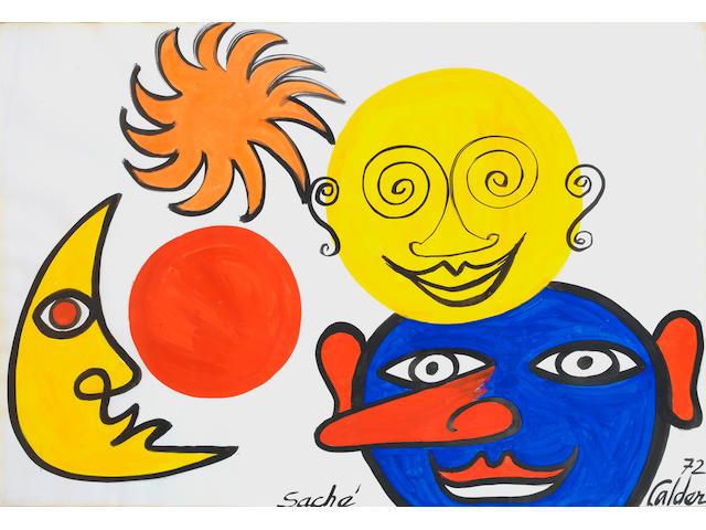 Alexander Calder (American, 1898-1976) 'Saché'
