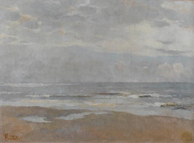 Periclès Pantazis (Greek, 1849/50-1884) Marine, Mer du Nord