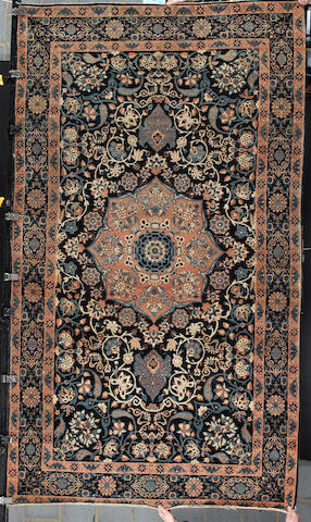 A  Nain rug Central Persia, 8 ft 9 in x 5 ft (267 x 153 cm) some minor damage