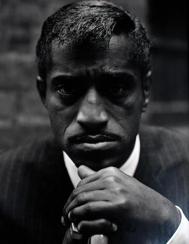 Philippe Halsman (American, 1906-1979) 'Sammy Davis Junior', 1965