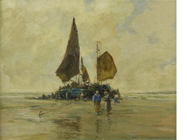 Robert McGown Coventry (Scottish, 1855-1914) On the Dutch coast