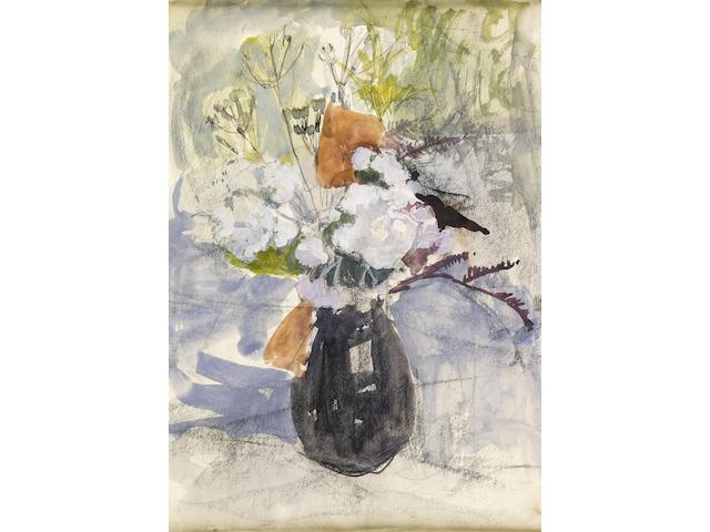 Anne Redpath, OBE RSA ARA LLD ARWS ROI RBA (British, 1895-1965) Jug of Flowers