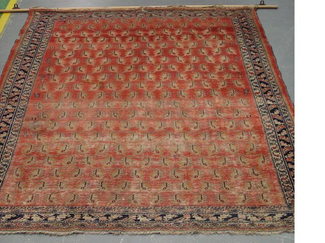 A West Persian rug 176cm x 143cm