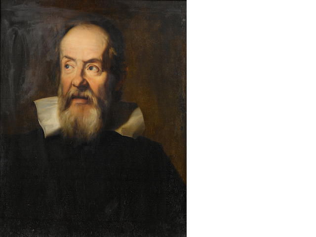 After Justus Sustermans, 19th Century Portrait of Galileo Galilei