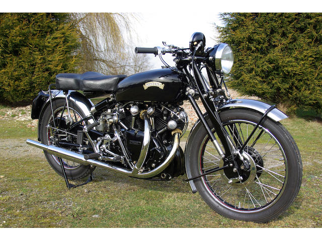 1953 Vincent Black Shadow,