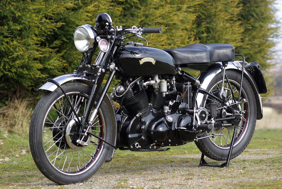 Only three owners from new,1953 Vincent 998cc Series-C Black Shadow Frame no. RC11963B Engine no. F10AB/1B/10063