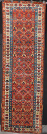 A North West Persian runner 319cm x 103cm