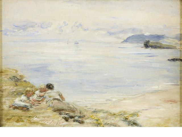 William McTaggart, RSA RSW (British, 1835-1910) 'Hope's whisper'
