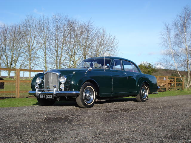 Formerly the property of Roger Daltrey,1960 Bentley S2 Continental Flying Spur Sports Saloon  Chassis no. BC126AR Engine no. BC125BC