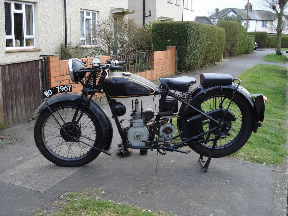 1934 Velocette 349cc MAC Frame no. M474 Engine no. MAC 92