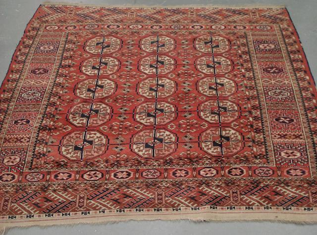 A Tekke rug West Turkestan, 120cm x 120cm