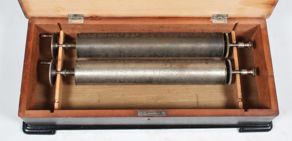 A Mermod Freres interchangeable 'sublime-harmony' musical box