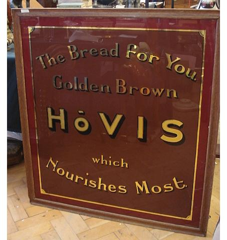 A Hovis advertising mirror