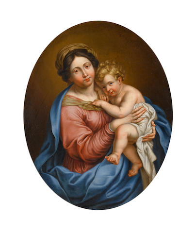 After Pierre Mignard, 18th Century The Madonna and Child