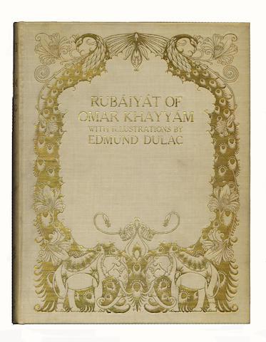 DULAC (EDMUND) OMAR KHAYYAM. Rubaiyat