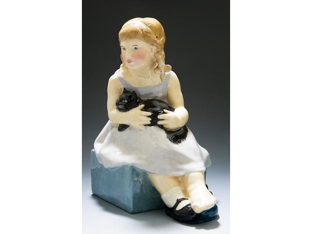 'Pussy' a rare Royal Doulton figure by F.C.Stone