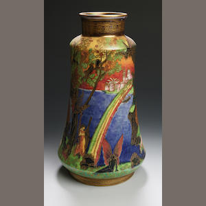 Daisy Makeig-Jones a Wedgwood Fairyland Lustre vase