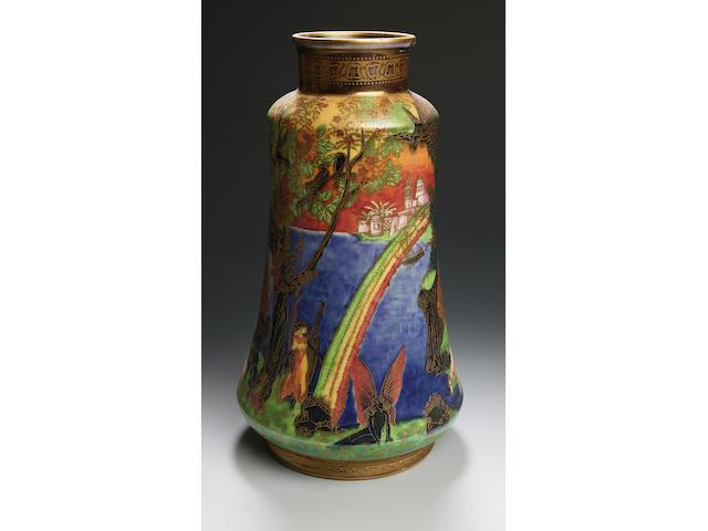 Daisy Makeig-Jones a Wedgwood Fairyland Lustre vase