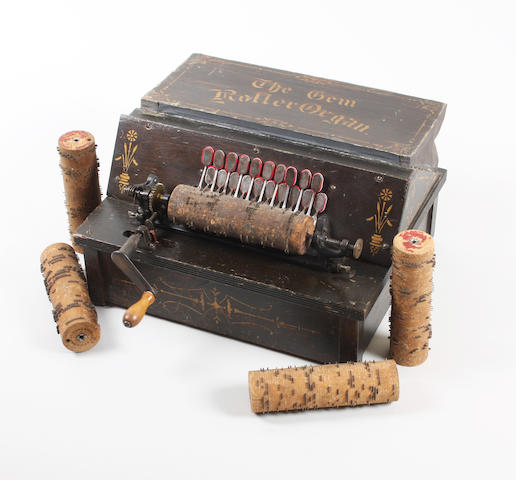 A Gem roller organ